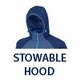Stowable Hood