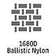 1680 Denier Ballistic Nylon